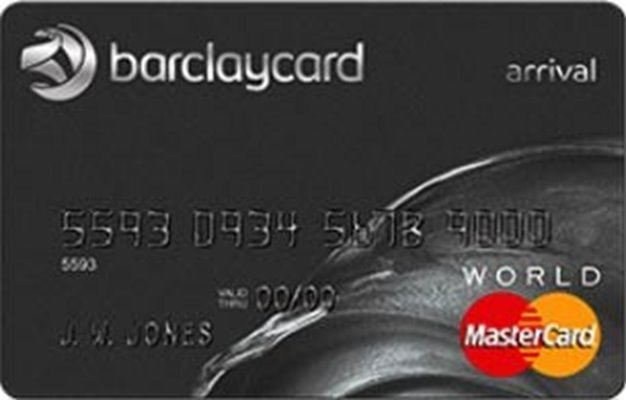 travel rewards credit card, credit card with travel rewards program, Barclaycard arrival, credit card no interest rate