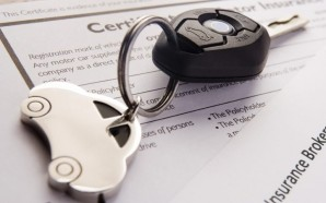 Car Keys On Insurance Documents