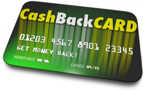 Cash Back Credit Card Incentives Reward Charge Money