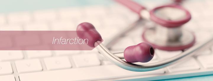 E-HEALTH AND MEDICAL CONCEPT: INFARCTION